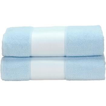 Casa Toalla y manopla de toalla A&r Towels Taille unique Azul claro