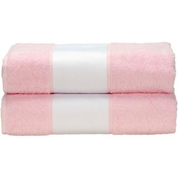 Casa Toalla y manopla de toalla A&r Towels RW6041 Rosa claro