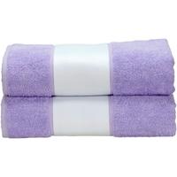 Casa Toalla y manopla de toalla A&r Towels RW6041 Morado