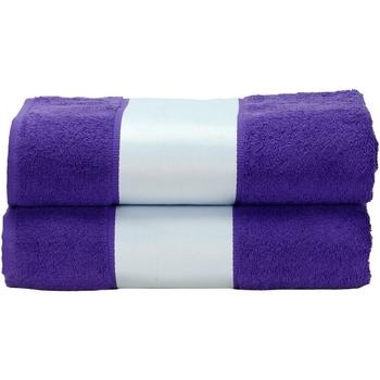 Casa Toalla y manopla de toalla A&r Towels RW6041 Púrpura