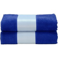 Casa Toalla y manopla de toalla A&r Towels Taille unique Azul oscuro