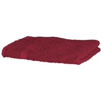 Casa Toalla y manopla de toalla Towel City Taille unique Burdeos