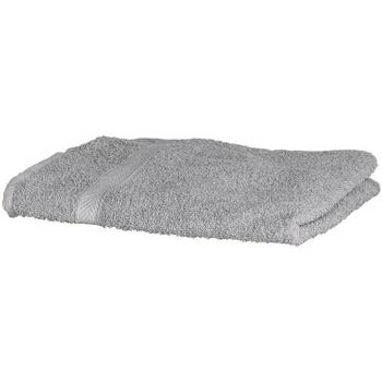 Casa Toalla y manopla de toalla Towel City Taille unique Gris