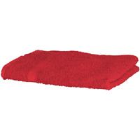 Casa Toalla y manopla de toalla Towel City Taille unique Rojo