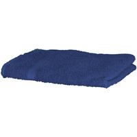 Casa Toalla y manopla de toalla Towel City Taille unique Azul