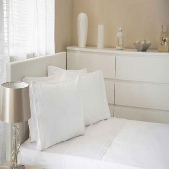 Casa Sábana encimera Belledorm Single BM291 Blanco