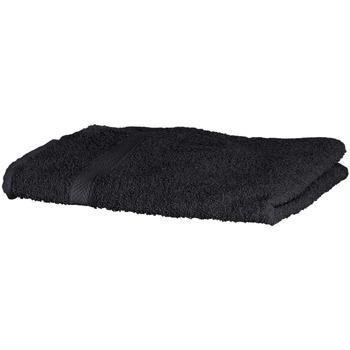 Casa Toalla y manopla de toalla Towel City Taille unique Negro
