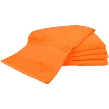 Casa Toalla y manopla de toalla A&r Towels Taille unique Naranja