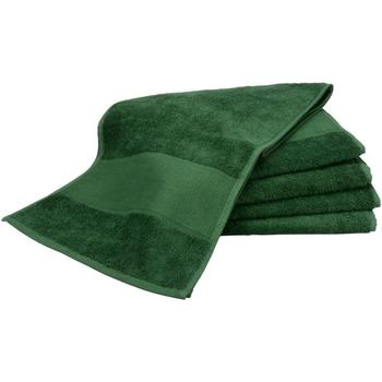 Casa Toalla y manopla de toalla A&r Towels Taille unique Verde oscuro