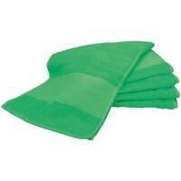 Casa Toalla y manopla de toalla A&r Towels RW6038 Verde