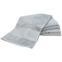 Casa Toalla y manopla de toalla A&r Towels Taille unique Gris