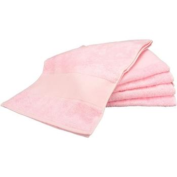 Casa Toalla y manopla de toalla A&r Towels Taille unique Rosa claro