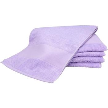 Casa Toalla y manopla de toalla A&r Towels Taille unique Morado