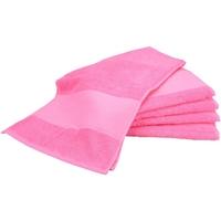Casa Toalla y manopla de toalla A&r Towels Taille unique Rosa