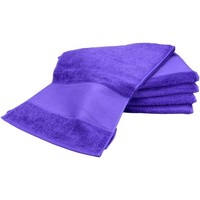 Casa Toalla y manopla de toalla A&r Towels Taille unique Púrpura