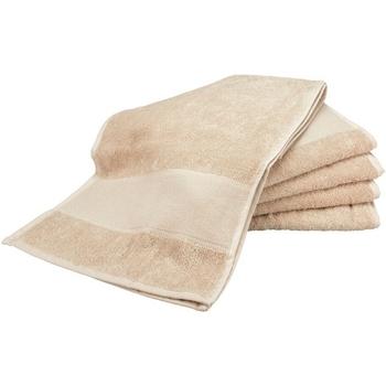 Casa Toalla y manopla de toalla A&r Towels RW6038 Arena