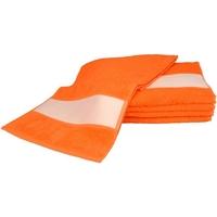 Casa Toalla y manopla de toalla A&r Towels 30 cm x 140 cm RW6042 Naranja