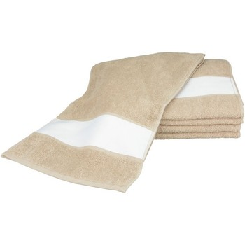 Casa Toalla y manopla de toalla A&r Towels 30 cm x 140 cm RW6042 Arena