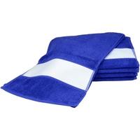 Casa Toalla y manopla de toalla A&r Towels 30 cm x 140 cm RW6042 Azul oscuro