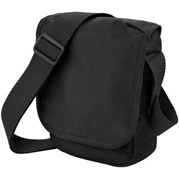 Bolsos Niño Cartable Bagbase BG18 Negro