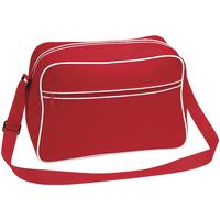 Bolsos Niño Cartable Bagbase BG14 Rojo/blanco