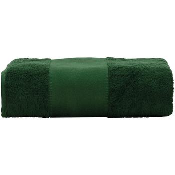 Casa Toalla y manopla de toalla A&r Towels RW6039 Verde oscuro