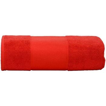 Casa Toalla y manopla de toalla A&r Towels Taille unique Rojo intenso