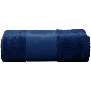 Casa Toalla y manopla de toalla A&r Towels Taille unique Azul marino
