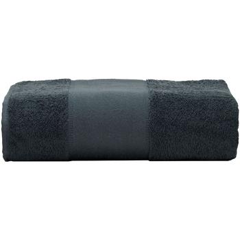 Casa Toalla y manopla de toalla A&r Towels RW6039 Grafito