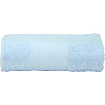 Casa Toalla y manopla de toalla A&r Towels RW6039 Azul claro