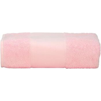 Casa Toalla y manopla de toalla A&r Towels RW6039 Rosa claro
