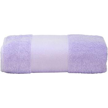 Casa Toalla y manopla de toalla A&r Towels RW6039 Morado
