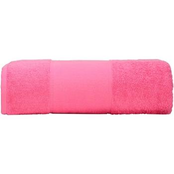 Casa Toalla y manopla de toalla A&r Towels RW6039 Rosa