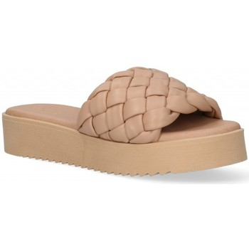 Zapatos Mujer Zuecos (Mules) Luna Collection 58399 beige
