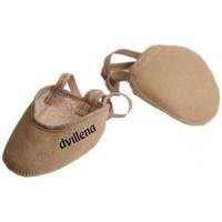 Zapatos Mujer Sport Indoor Dvillena PUNTERA GIMNASIA RITMICA  SANDRA Beige