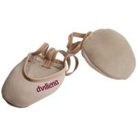 Zapatos Mujer Sport Indoor Dvillena PUNTERAS GIMNASIA RITMICA  ELEGANTE Beige