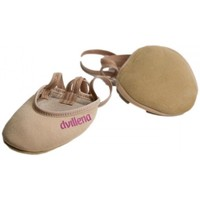 Zapatos Mujer Sport Indoor Dvillena PUNTERAS GIMNASIA RITMICA  RITMIQUERA Beige