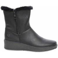 Zapatos Mujer Botas de nieve Rieker Y447100 Negros