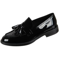 Zapatos Mujer Mocasín Vagabond Shoemakers Amina Black Lack Negros