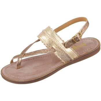 Zapatos Niña Sandalias Bisgaard 719321211128 Dorado