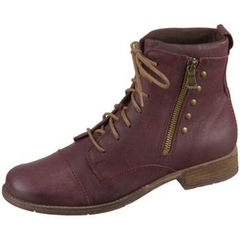 Zapatos Mujer Botas de caña baja Josef Seibel Sienna 30 Rojo burdeos