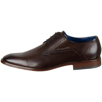 Zapatos Hombre Derbie Bugatti Milko Exko Marrón