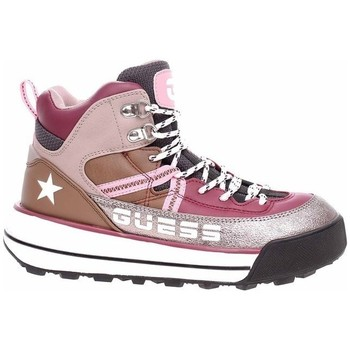 Zapatos Mujer Senderismo Guess Ravele Plateado, Marrón, Rosa