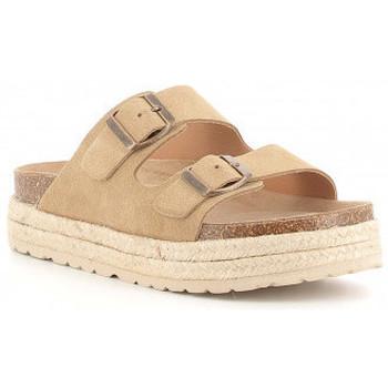 Zapatos Niña Zuecos (Mules) Obi Shoes 3052 Beige