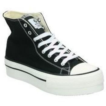 Zapatos Mujer Zapatillas altas Victoria DEPORTIVAS  1061101 MODA JOVEN BLANCO Blanc