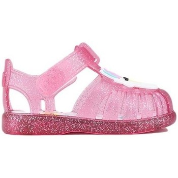 Zapatos Niña Sandalias IGOR Baby Sandals Toby Unicornio Fucsia Glitter Rosa