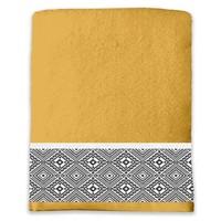 Casa Toalla y manopla de toalla Douceur d intérieur ESTEBAN Amarillo