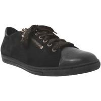 Zapatos Mujer Derbie Mobils By Mephisto HAWAI Terciopelo negro
