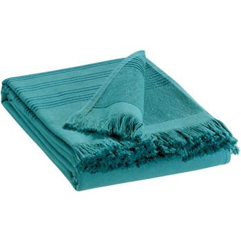 Casa Toalla y manopla de toalla Vivaraise CANCUN Azul / Hongo