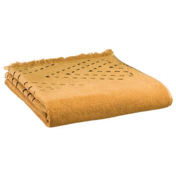 Casa Toalla y manopla de toalla Vivaraise JULIA Bronce